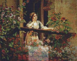 Pensive Moments Cross Stitch
