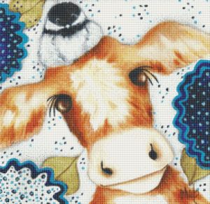 Chicodee Farm Cross Stitch Chart Mockup